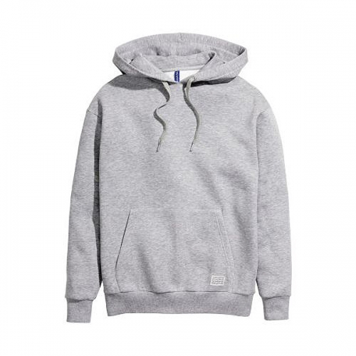 GRAY 2POCKET HOOD